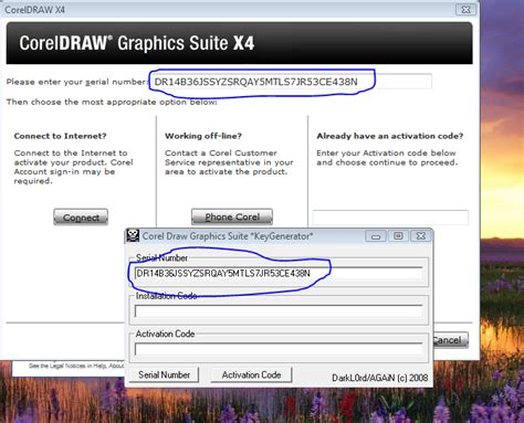 corel draw x4 registration code corel draw x4 serial keygen