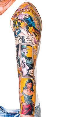comic strip tattoo designs ideas for mates on comic comic