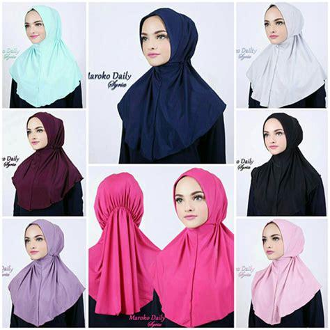Harga Jilbab Instan Zoya Jilbab Instan Maroko Daily Syria Jersey Zoya Www