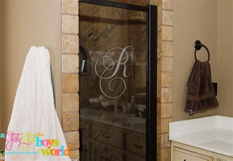 Shower Door Vinyl Shower Door Vinyl Monogram Embroidery Store Ideas Pinterest