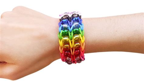 Youtube Tutorial Loom Bands | loom bands v tutorial braccialetto elastici con perle