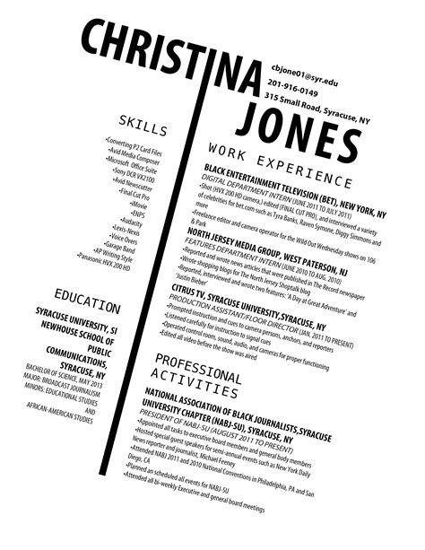 cv design unique christinabjones just another wordpress com site