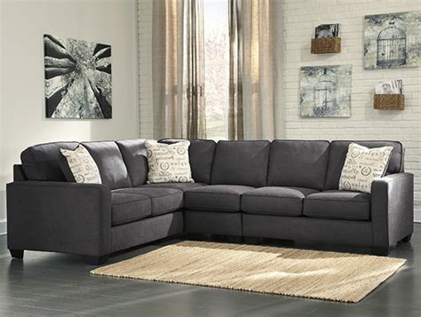 alenya  piece corner sofa sectional  charcoal marjen
