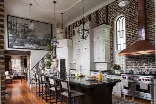 White Interiors Homes 50 Trendy And Timeless Kitchens With Beautiful Brick Walls
