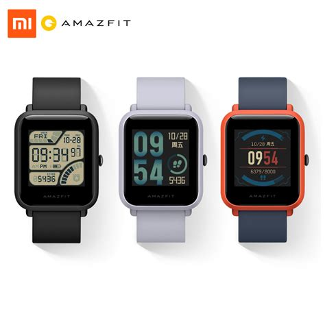 Original Xiaomi Huami Amazfit Bip Lite Youth Smart Ver xiaomi huami amazfit bip bit pace lite youth smart mi fit ip68 1 28 gps ebay