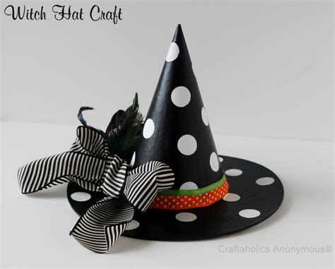 craftaholics anonymous 174 witch hat tutorial - Witch Hat Crafts For