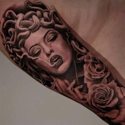 misunderstood tattoo designs medusa portrait designs medusa