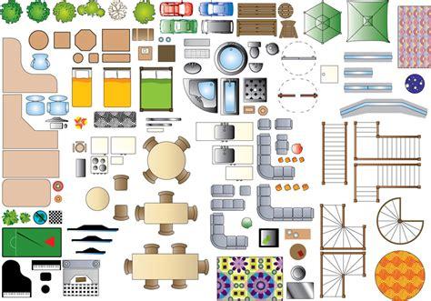 furniture on floor plan illustrator