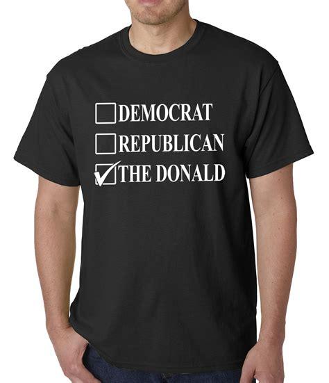 donald trump gifts donald trump merchandise the donald mens t shirt