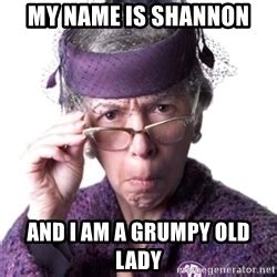 Old Lady Meme - pics for gt grumpy old woman meme