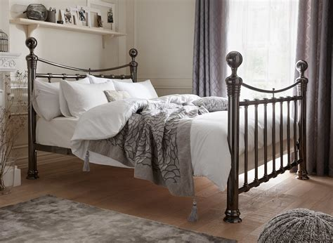 Nelson Metal Bed Frame   Dreams