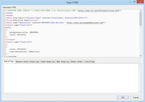 html tutorial how to insert image adding custom html or javascript to a web page