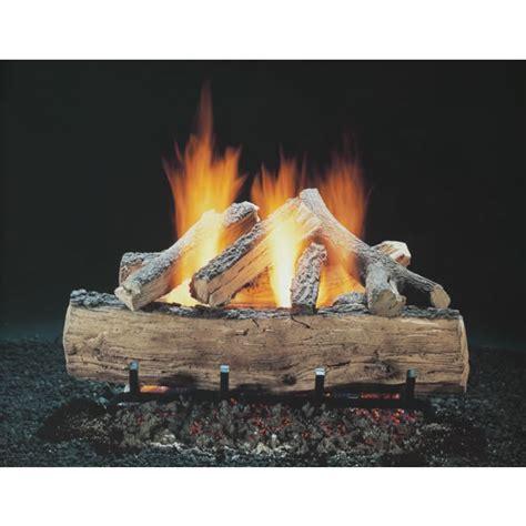 18 Inch Gas Fireplace Logs by Hargrove 18 Inch Seasoned Split Oak Vented Gas Logs Logs