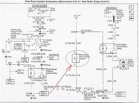 monaco rv wiring diagrams joel i was just reading an earlier post of a w18 where the parking brake locked we the
