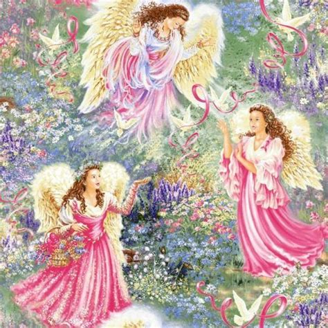 Angelic Gardens by Images In Pink Wallpaper And Background