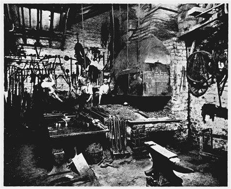18th century black smith hair plate 60 denmark passage blacksmith s forge british