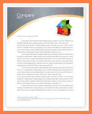 9 Microsoft Office Letterhead Template Company Letterhead Microsoft Office Stationery Templates