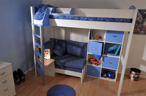 stompa high sleeper with futon stompa casa 7 high sleeper bed