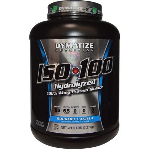 Whey Isolate 100 Dymatize Nutrition Iso 100 Hydrolyzed 100 Whey Protein