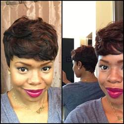 how to weve hair 28 peice short and sassy custom 27 piece wig youtube