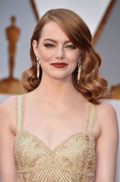 curly hairstyles red carpet best oscars hairstyles and makeup looks 2017 red carpet