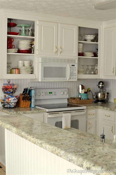 how to install a diy beadboard backsplash kitchen makeover how to install a diy beadboard backsplash kitchen makeover
