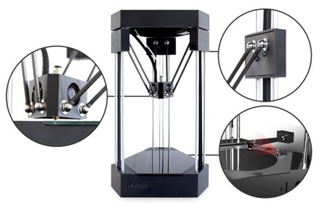 Flux 3d Printer flux all in one system offers 3d printing 3d scanning laser engraving and more