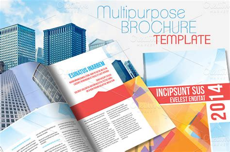 brochure templates free indesign template agenda indesign 187 designtube creative design