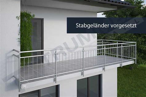 balkongeländer bausatz balkongel 228 nder bausatz f 252 r balkongel 228 nder aus edelstahl