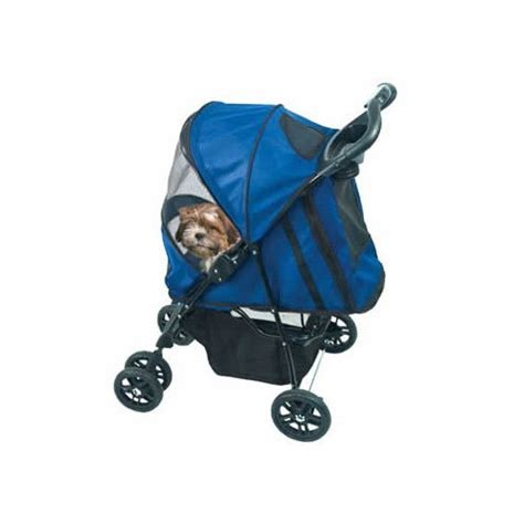 stroller petco pet gear blue happy trails pet stroller petco