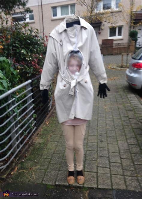 headless girl diy illusion costume