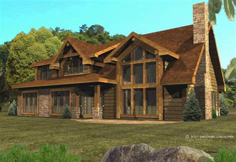 log home floor plans wisconsin log homes floor plan