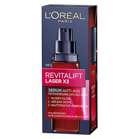 L Oreal Revitalift Laser X3 Serum loreal revitalift laser x3 serum d豌盻 ng da ch盻創g l 227 o h 243 a