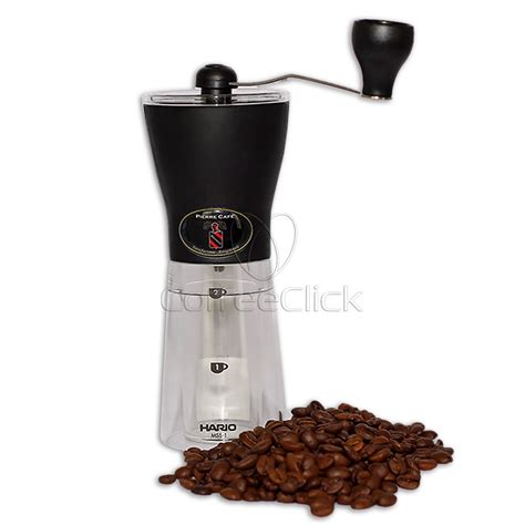 Hario Mini Mill Slim Coffee Grinder Mss 1b Hario Mss 1b Ceramic Mini Mill Grinder Coffee