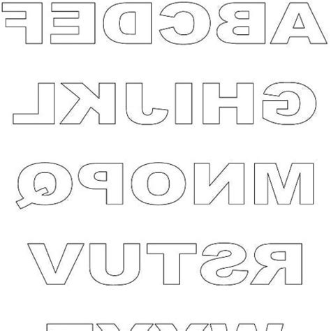 free printable letters to cut out best photos of free printable alphabet cut outs free cut