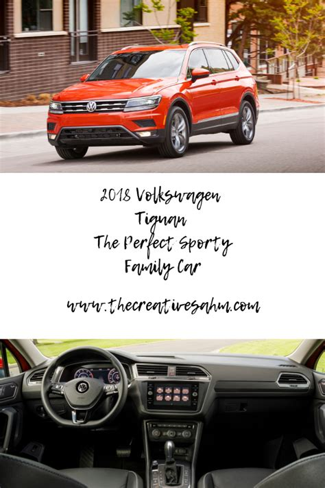2018 volkswagen tiguan the perfect sporty family car