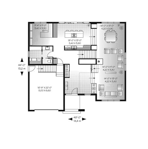 modern floor plans for homes hadley hill modern home plan 032d 0769 house plans and more