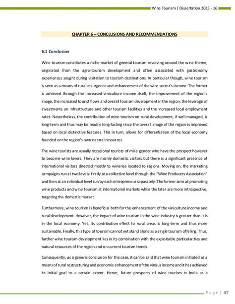 thesis abstract about tourism dissertation abstracts international 28 images