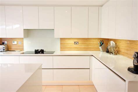 laminate splashbacks for bathrooms almond wood kitchen splashback contemporary kitchen