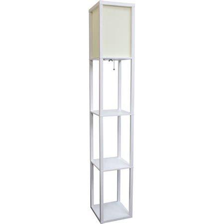 walmart floor ls with shelves simple designs floor l etagere organizer storage shelf with linen shade walmart