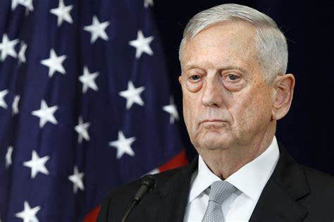 James Mattis Syria | trump administration warns syria not to use chemical