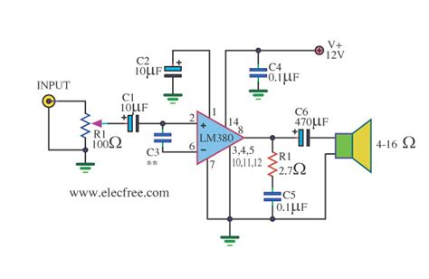 Power Lifier Mini 4 12v power supply schematic 4 get free image about