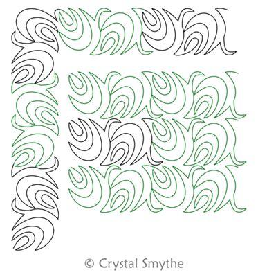 pattern chaos theory chaos theory panto or border and corner crystal smythe