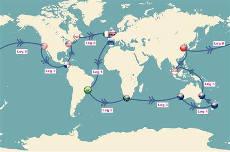catamaran to sail around the world sailing world route world sailing route map sailing