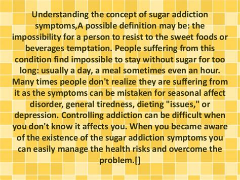 Signs Of Sugar Detox by Do You Want To Comprehend Sugar Addiction Symptoms