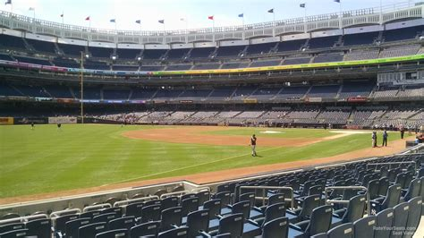 seats from yankee stadium yankee stadium section 129 new york yankees