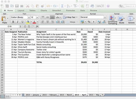 Income Tracker Spreadsheet by On The Tracking Income Expenses Camels