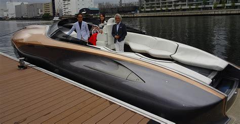 lexus boat toyota unveils lexus pleasure boat prototype lays out