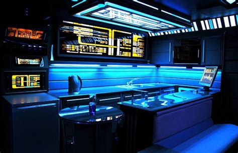 Man Cave Bathroom Decorating Ideas by 8 Sci Fi Rooms And Homes That Are Out Of This World