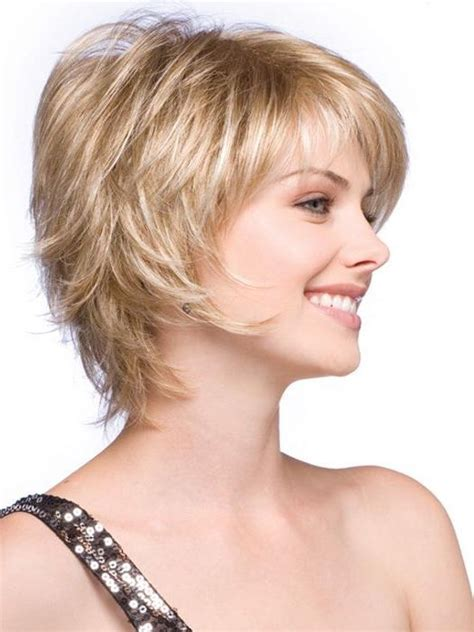 medium feathered bob feathered short hairstyles best short hair styles